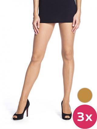 Bellinda Dámska sada pančuchových nohavíc Amber 3 Pack Die passt 20D BE290001 -230 S dámské