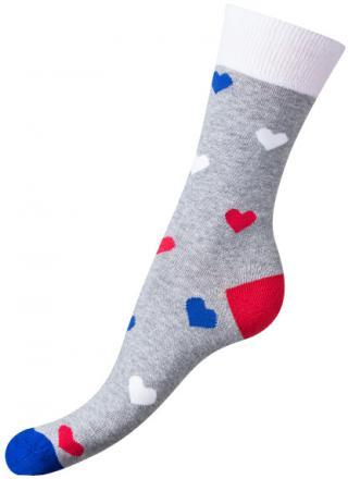 Bellinda Dámske ponožky La   Me Crazy Socks šedá BE491004 -309 43-46