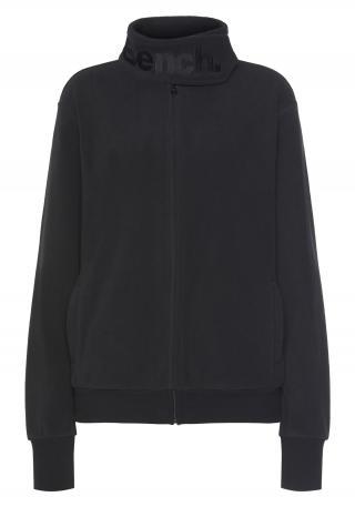 BENCH Flisová bunda  čierna dámské S