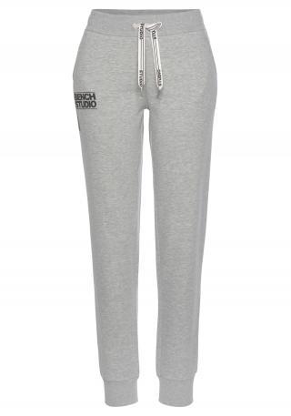 BENCH Športové nohavice  čierna / sivá dámské S