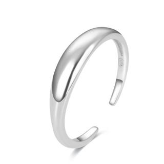 Beneto Minimalistický strieborný prsteň na nohu AGGF487 dámské strieborná