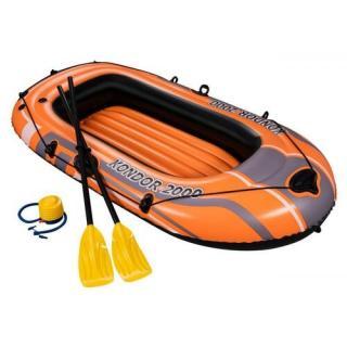 Bestway Nafukovací čln s pádlami a nafukovacou pumpou, 197 x 115 cm