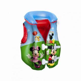 Bestway Nafukovacia plavacia vesta Mickey mouse a Minnie, 3 - 6 let