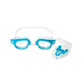 Bestway Ochranná sada na plávanie - okuliare, spona na nos, ušné zátky