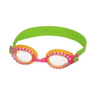 Bestway Plavecké okuliare Sparkle, ružová