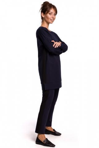 BeWear Womans Sweatshirt B172 Navy Blue dámské XXL
