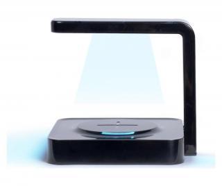 Bezdrôtová nabíjačka s UV sterilizátorom Čierna
