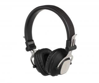 Bezdrôtové Bluetooth slúchadlá s mikrofónom Compatible Black Čierna