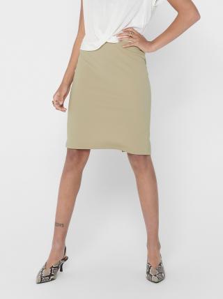 Béžová púzdrová sukňa ONLY Tina dámské L