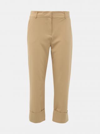Béžové skrátené nohavice Jacqueline de Yong Wagner dámské béžová XS