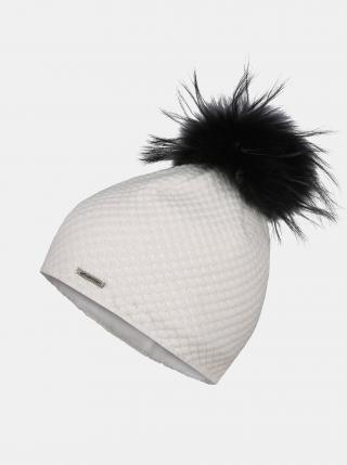 Biela dámska čiapka Hannah dámské ONE SIZE