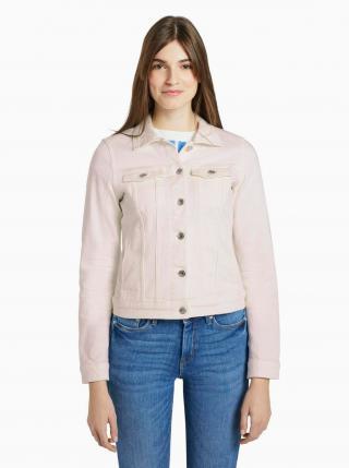 Biela dámska rifľová bunda Tom Tailor Denim dámské S