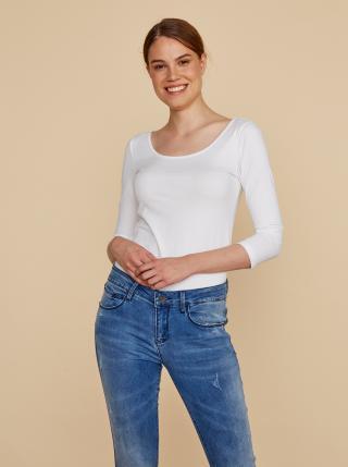 Biele dámske basic tričko ZOOT Baseline Theresa dámské biela L