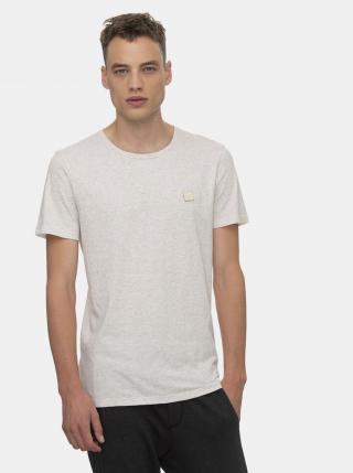 Biele pánske tričko Ragwear - S pánské sivá S