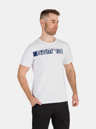 Biele pánske tričko SAM 73 pánské biela M