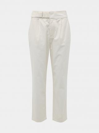 Biele skrátené nohavice Jacqueline de Yong Pacey dámské biela S