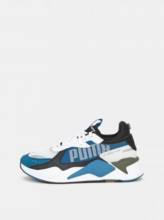 Bielo-modré pánske tenisky Puma pánské modrá 43