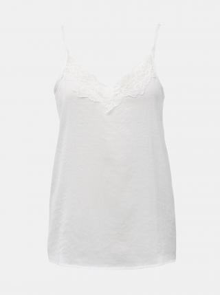 Biely top s krajkou Jacqueline de Yong Appa dámské biela XL