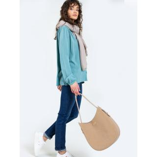 Big Star Womans Bag Bag 175214 Gold Eco_leather-800 dámské Light Beige