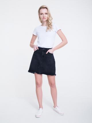 Big Star Womans Skirt 120160 -998 dámské Black 26