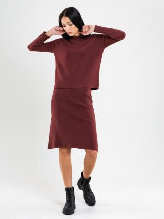 Big Star Womans Skirt 120169 Light -803 dámské Brown S