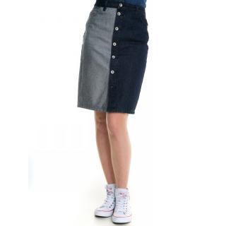 Big Star Womans Skirt Skirt 120156  Denim-641 dámské Dark W25