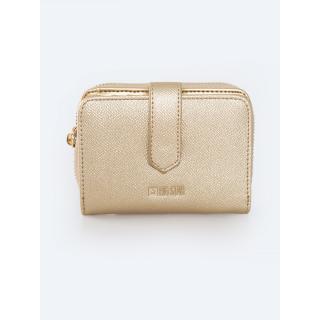 Big Star Womans Wallet Wallet 175215 Brak Eco_leather-203 dámské Gold
