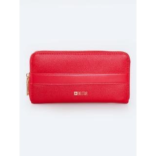 Big Star Womans Wallet Wallet 175218 Brak Eco_leather-603 dámské Red
