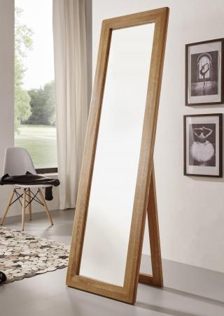 Bighome - BRISBANE Stojace zrkadlo 50X175 cm, dub