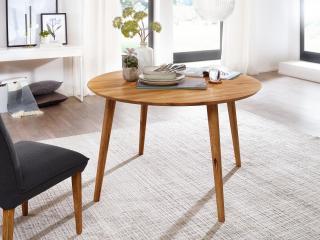 Bighome - CANBERRA Jedálenský stôl 75x75 cm, dub