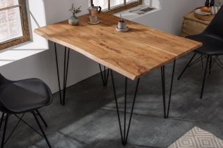 Bighome - Jedálenský stôl MAMUT 180 cm - hnedá