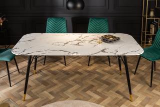 Bighome - Jedálenský stôl ORION 180 cm - biela