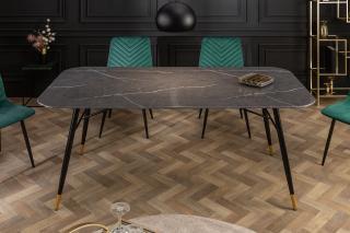 Bighome - Jedálenský stôl ORION 180 cm - čierna
