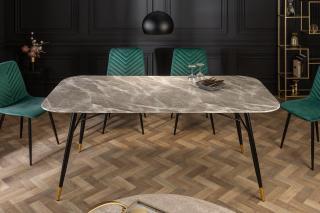 Bighome - Jedálenský stôl ORION 180 cm - sivá