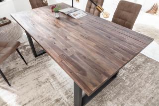 Bighome - Jedálenský stôl WOTANA 200 cm - teak-hnedá