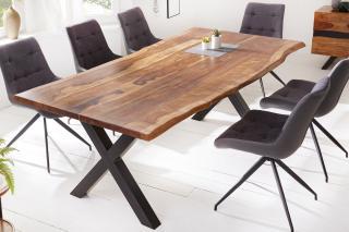 Bighome - Jedálenský stôl ZONA 200 cm - palisander, prírodná