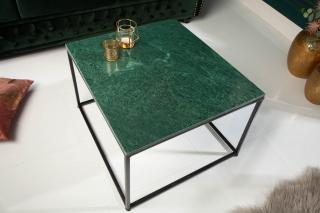 Bighome - Konfernečný stolík FUSIA 50 cm - zelená