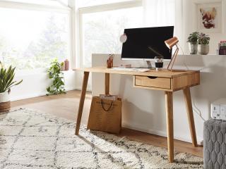 Bighome - MELBOURNE Písací stôl 120x55 cm, buk
