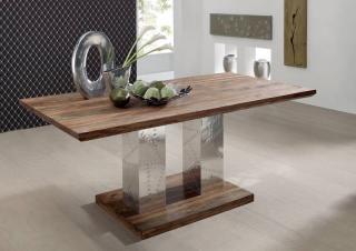 Bighome - PLAIN SHEESHAM jedálenský stôl 178x90 palisander, venice beach, lakovaný