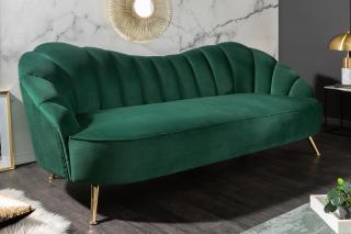 Bighome - Sedačka CAROLINE 220 cm - zelená