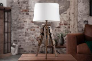 Bighome - Stolná lampa TRIP 60 cm - biela