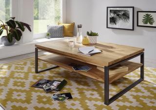 Bighome - WAGGA Konferenčný stolík 120x80 cm, dub