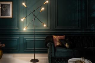 Bighome - Závesná lampa VARIA - čierna, zlatá