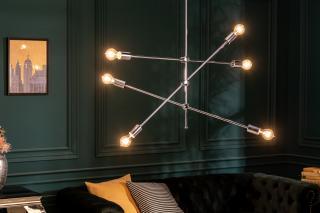 Bighome - Závesná lampa VARIA - strieborná