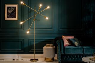 Bighome - Závesná lampa VARIA - zlatá