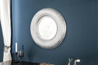 Bighome - Zrkadlo ORIENT 60 cm - strieborná