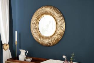 Bighome - Zrkadlo ORIENT 60 cm - zlatá