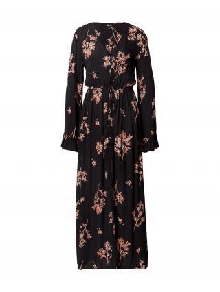 BILLABONG Šaty  čierna / ružová dámské 34