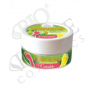 Bione Cosmetics Balzam na päty Cannabis 150 ml