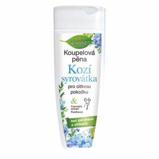 Bione Cosmetics Kúpeľová pena Kozí syrovátka pre citlivú pokožku 200 ml